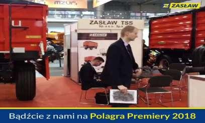 Zasław zaproszenie na Polagra Premiery 2018