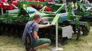 Tolmet z maszynami rolniczymi na Opolagra 2016