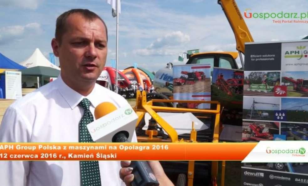 APH Group Polska z maszynami na Opolagra 2016