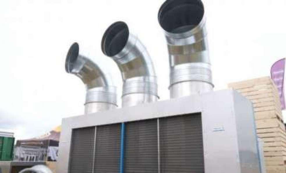 Omnifrigo 60 - mobilny system wentylacyjny, chłodniczy