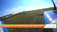 Wilkowice, przelot samolotem - XII Festiwal Starych Ciągników