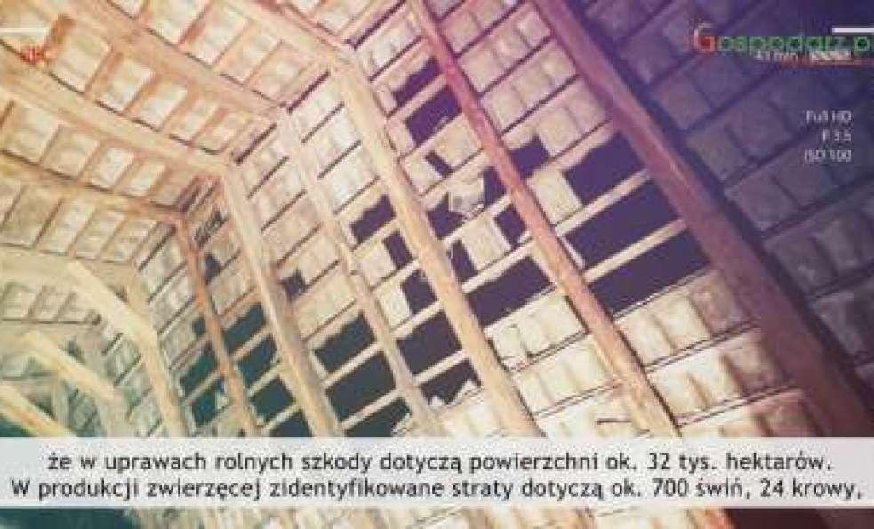 Tydzień Gospodarza - Szkody po burzach, 24 sierpnia 2017 r.