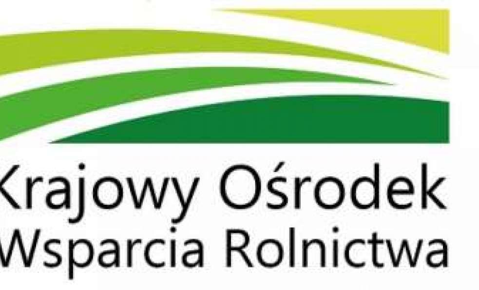 KOWR - Krajowy Ośrodek Wsparcia Rolnictwa 1 września ruszył