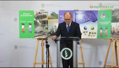 Minister Rolnictwa podsumowuje ostatnie 8 lat